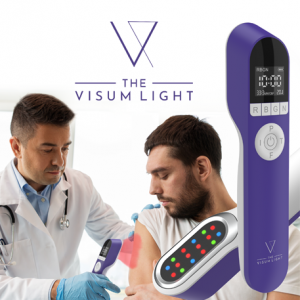 Medical doctors use the Visum Light in practice.
